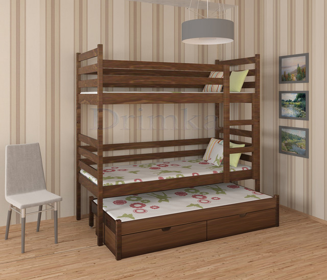 Триярусні ліжка