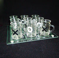 Алко-игра Крестики-нолики, подарки на 23 февраля