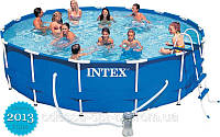 Intex  Интекс 28252 Каркасный бассейн Metal Frame Pools  + аксессуары