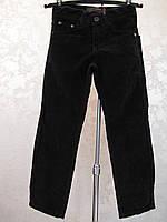 Школьные вельветовые брюки на мальчиков Синие