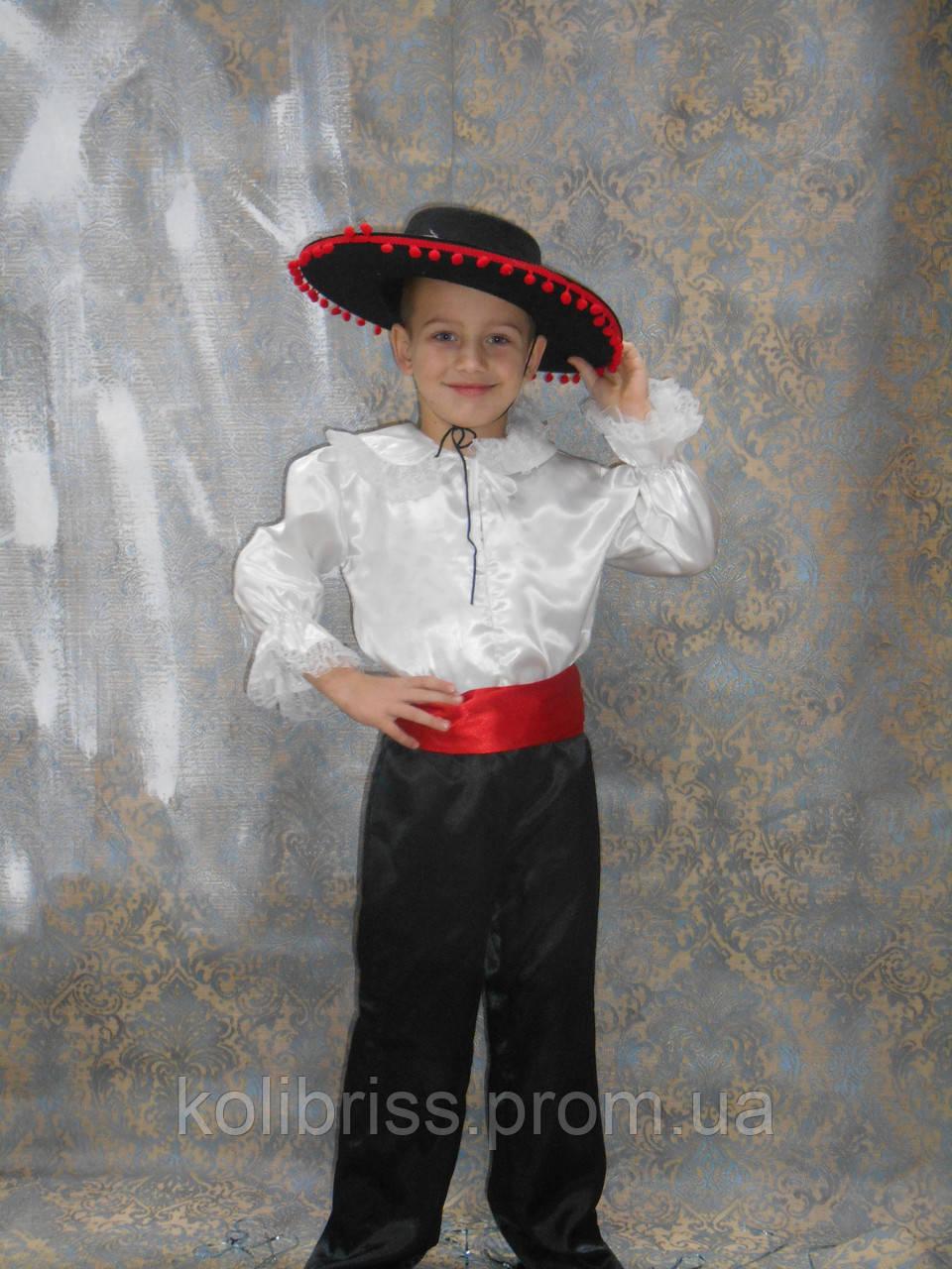 Костюм испанца своими руками фото