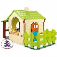 Детский игровой пластиковый разборный дом Injusa 2033