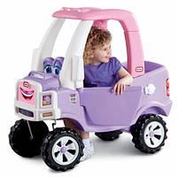 """Детская каталка-толокар """"Машина"""" розовая Little Tikes 627514"""