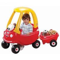 Машинка-каталка с прицепом Little Tikes 621390