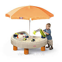 "Песочница-стол ""Весёлая стройка"" Little Tikes 401N"