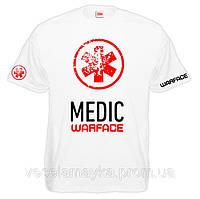 "Футболка ""Medic warface (Варфейс медик)"""
