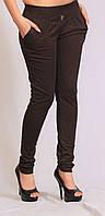 Лосины брюки коричневые