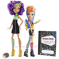 Набор Монстер Хай  Клодин и Хоулин  Вульф (Monster High Howleen Wolf and Clawdeen Wolf)