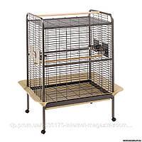 Ferplast EXPERT 100 клетка для попугаев - вольер для крупных попугаев, 124,5 x 100 x h 156 см.
