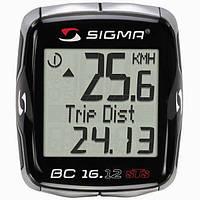 Велокомпьютер Sigma Sport BC 16.12 STS Беспроводной