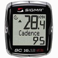 Велокомпьютер Sigma Sport BC 16.12 STS+CAD Беспроводной