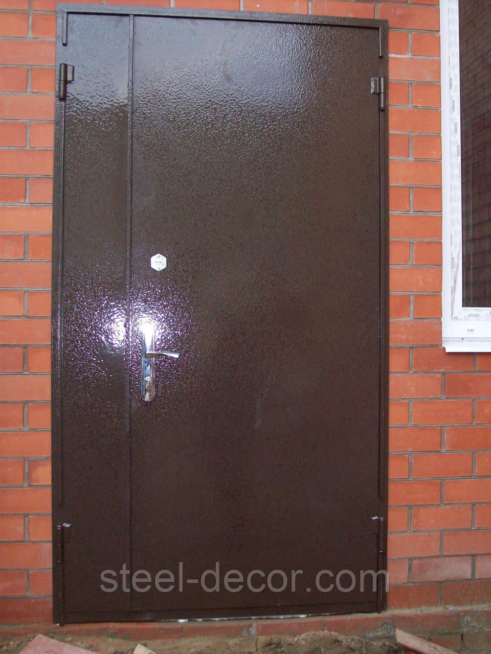 металлические декоративные двери для подвала