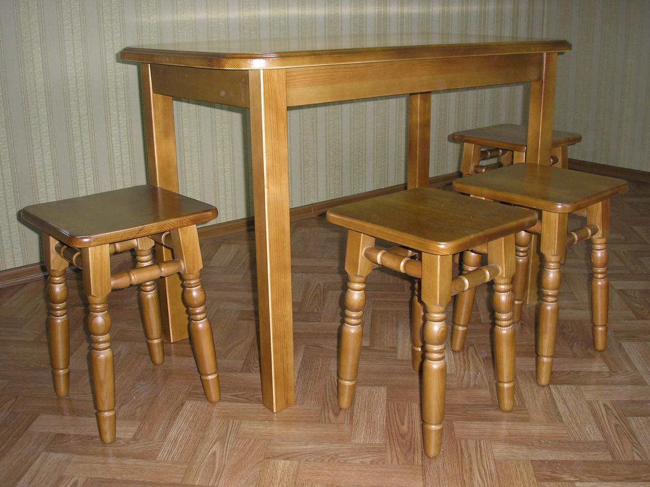 Как сделать стол в столовую своими руками