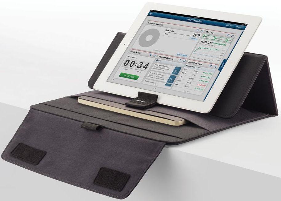 """Практичный чехол для планшета 7-10"""" XD Design Vancouver P772.715 темно-серый"""