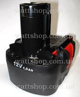 АККУМУЛЯТОРЫ для шуруповертов:12 вольт:Аккумулятор для шуруповерта 12 В, 1500 mA/h BOSCH