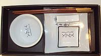 Набор для суши белый на одну персону