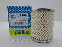 Фильтр топливный на Рено Мастер II 98> 1.9dTI+2.5D+2.8dTI (h=92mm) - PURFLUX (Франция) C493