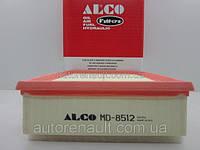 Фильтр воздушный на Рено Мастер III после 2010 г.в. 2.3 dCi ALCO FILTER (Германия) MD8512