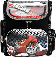 """Ортопедический ранец  для мальчика Dr Kong (Доктор конг) """"Мотоцикл"""""""