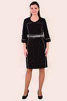 Платье женское,в спортивном стиле , одежда для полной молодежи ,ботал ,48,50,52,трикотаж , пл 806031.