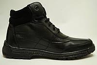 КаDаr  mod165 Мужские  зимние ботинки из натуральной кожи на меху Коллекция 2016-2017