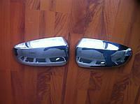 Накладки на зеркала (нерж.) BMW X5 E70