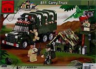 Конструктор Военный лагерь Brick 811