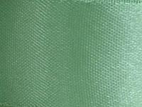 Тесьма атласная 25 мм . зеленый 25 ярд.