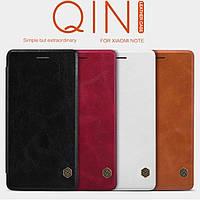 Кожаный чехол Nillkin Qin  для  Xiaomi Mi Note (4 цвета)