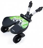 Bumprider футбол подставка к коляске для второго ребенка, черный цвет