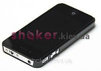 Мощный электрошокер в виде iPhone (Айфон черный) police shoker