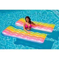 Надувной матрас для плавания Радуга Intex 58876 (183х102 см.)