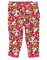 Трикотажные штаны для девочки.  3-6, 6-12  месяца.