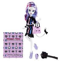 Кукла Кэтрин ДеМяу из серии Новый Скарместр (Monster High Catrine De Mew New Scaremester)