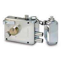 Дверной накладной замок с цепочкой Apecs 0096-S