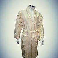 Мужской халат с воротником - хлопок - Турция   pr-hm517