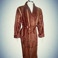 Мужской халат с воротником - хлопок - Турция   pr-hm519