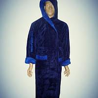 Мужской халат с капюшоном микрофибра Alchera Турция