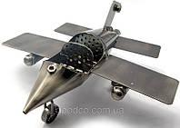 """Подарок в стиле техно-арт модель """"Самолета"""" из металла"""