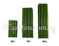 Зеленые восковые свечи для ритуалов