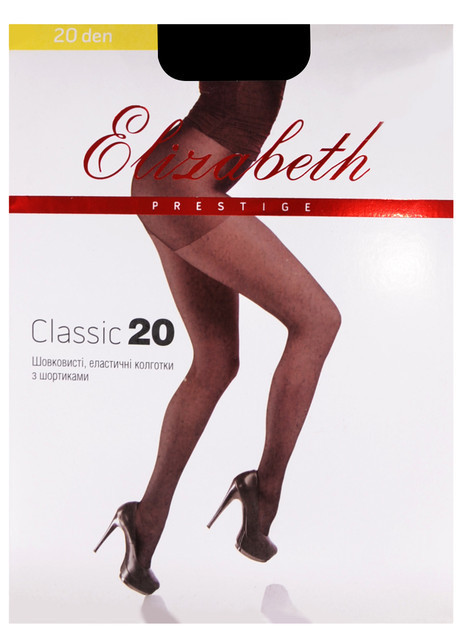 Elizabeth Prestige 20 den classic Natural р.2 (Арт. 00313)