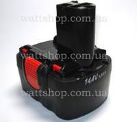 АККУМУЛЯТОРЫ для шуруповертов:14,4 вольт:Аккумулятор для шуруповерта 14,4 В, 1500 mA/h BOSCH