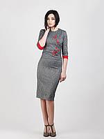 Стильный женский костюм выполнен из ткани трикотаж , фото 1