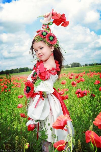Чарівна україночка