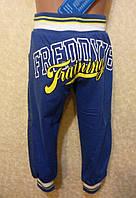 Спортивные штаны  с джинсовой вставкой  для мальчика
