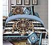 Комплект постельного белья (евро-размер) № 732