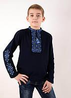 Вышиванка с вышитыми рукавами для мальчика