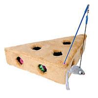 """Trixie  TX-4505  игрушка для кота""""Cat`s Cheese"""" 36 х 8 х 26/26 см Трикси"""