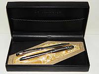 """Подарочный набор ручек """"De Cambrige"""" поворотная шариковая и перьевая ручки в футляре """"Элегант"""""""