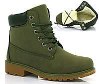 Женские ботинки Malibu green, фото 1